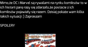 Crossovery Marvel i DC