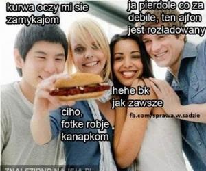 Selfie kanapką