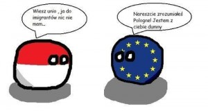 Polska o imigrantach