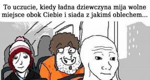 Dołująca sytuacja w autobusie