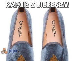 Kapcie z Bieberem