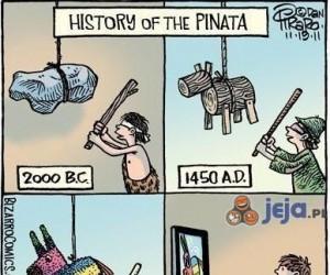 Historia pinaty