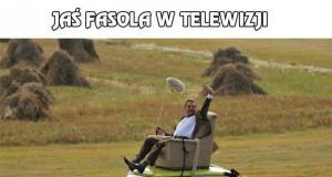 Jaś Fasola - w telewizji i prywatnie