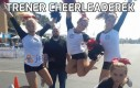 Trener cheerleaderek