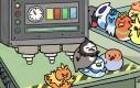 Proces produkcji Pokemonów-ptaków