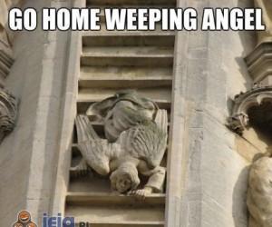 Anioł, jesteś pijany!