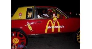 Samochód McDonald