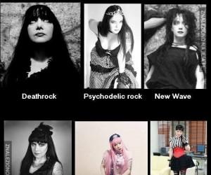 Jedna kobieta 6 stylów