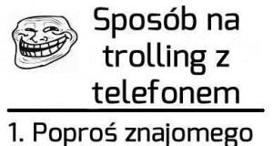 Jak trollować znajomych