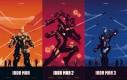 Perfekcyjne plakaty superbohaterskich trylogii