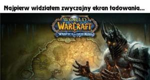 Ekran ładowania w World of Warcraft