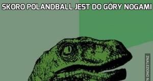 Skoro polandball jest do góry nogami