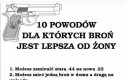 Dlatego jestem za dostępem do broni w Polsce