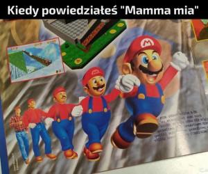It's a me, Mario!
