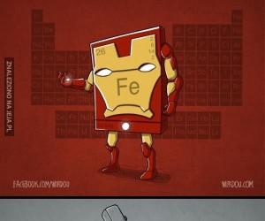 Ucz się chemii z Avengersami
