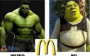 Hulk po fast foodach