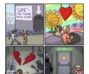 """""""Życie"""" - Park rozrywki"""