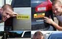 Nietypowe naklejki na samochód
