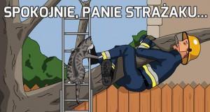 Spokojnie, panie strażaku...
