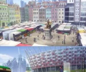 Polskie akcenty w anime