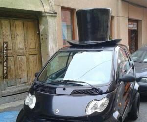Cóż za stylowe autko