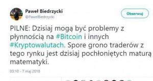 Załamanie rynku bitcoina