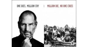 One dies, milion cry...