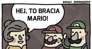 Ale ja nie jestem Mario...