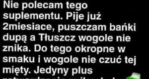 Najgorszy suplement diety
