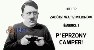P*eprzony camper!