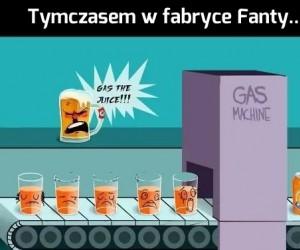 Tymczasem w fabryce Fanty