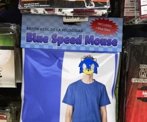 Kostium Sonica