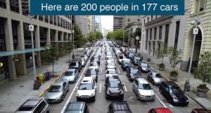 200 ludzi i różne środki transportu