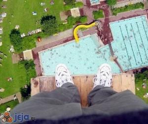 Widok z trampoliny