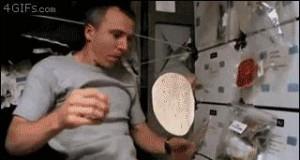 Jedzenie w kosmosie