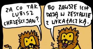 Lwy lubią chrześcijan