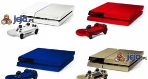 Gdyby PlayStation 4 była dostępna w różnych kolorach