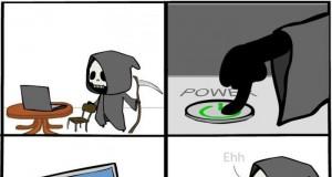 Kiedy śmierć dotyka komputera