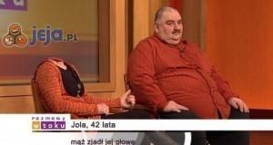Jola, 42 lata, mąż zjadł jej głowę