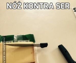 Nóż kontra ser