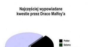 Najczęściej wypowiadane kwestie przez Draco Malfoy'a