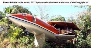 Dom w samolocie