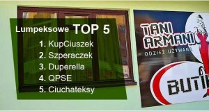 Lumpeksowe TOP 5