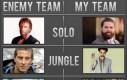 Drużyna wroga vs moja drużyna