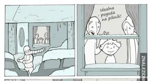 Trollowanie zimy