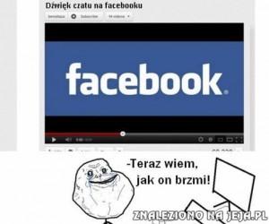 Dźwięk czatu na Facebooku