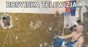 Rosyjska telewizja...