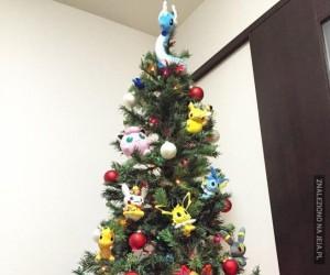 Choinka fana Pokemonów