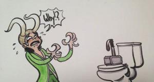 Thor trolluje Lokiego