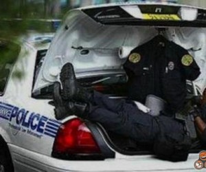 Praca policjanta jest bardzo ciężka